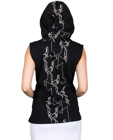 GIRLS TECH GILET SCRAMBLE