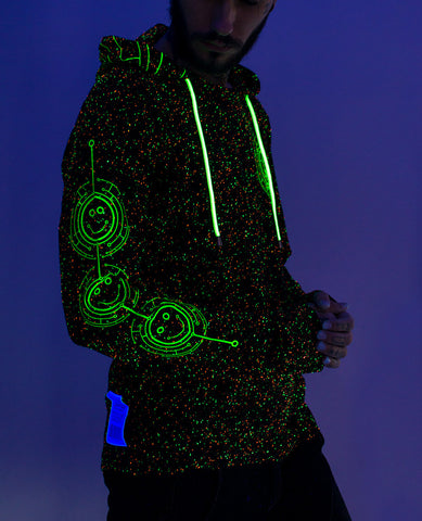 TECFACE FUTURE L/S TOP W HOOD