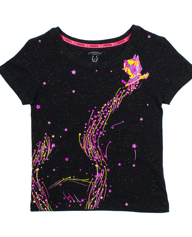 KIDS SPECLE S/S UNICORN STARDUST