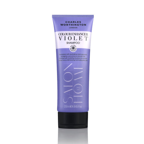 Charles Worthington Colour Enhancer Violet Shampoo