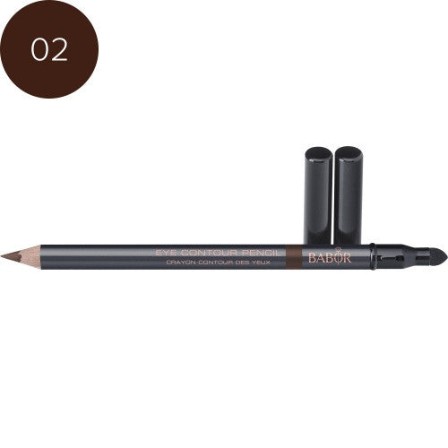 Babor Eye Contour Pencil 02 brown. Øyekontur-penn for markering av øyepartiet.