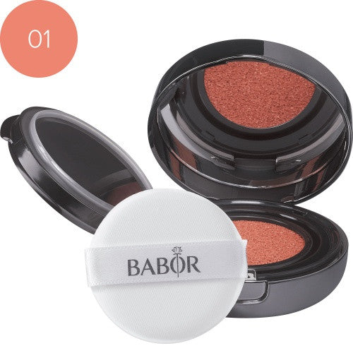 BABOR Cushion Blush 01 peach. Flytende rouge on-the-go