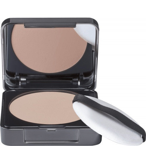 Babor Invisible Powder. Transparent kompakt pudder som fikserer makeup og gir en matt finish.