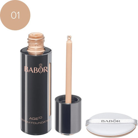 Babor Serum Foundation 01 ivory