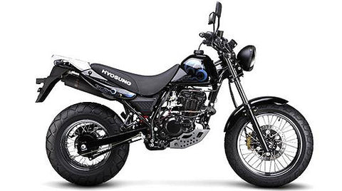 Hyosung RT125D Parts and Accessories