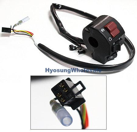 37200HM8100 Hyiosung Right Handle Switch GT125 GT250