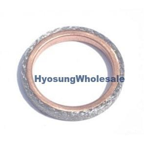 14181-46E00 Hyosung Exhaust Pipe Header Gasket GT125 GT125R GT250 GT250R RX125SM RT125D GD250N MS3-125 MS3-250 GV125 GV250