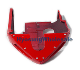 94409SB81000DR Hyosung Mud Cowling Fairing Belly Pan Red GT250
