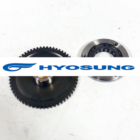 12614HP8800 12620HP8800 12614HC8100 12620HC8101 Hyosung Starter Clutch Assembly MS3 250 GD250