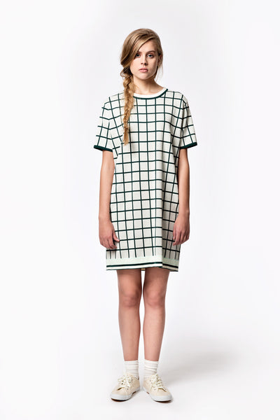 Square Jacquard Dress
