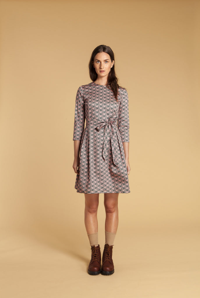 Rhino Check Dress