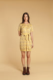Palm Tree Jacquard Dress