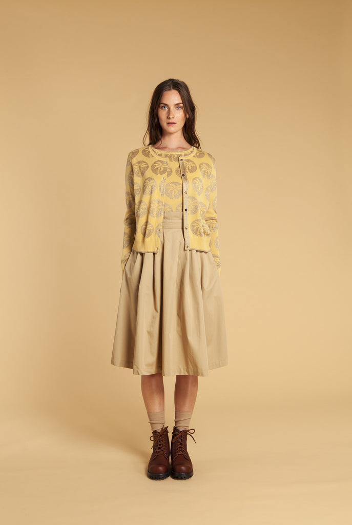 Safari Cotton Skirt