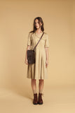 Safari Cotton Shirt Dress