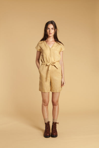 Honey Comb Romper