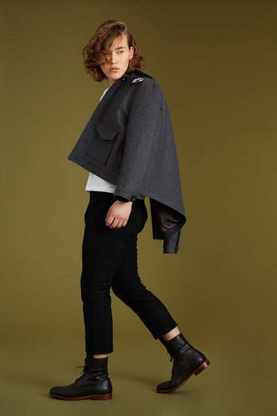 Recycled Wool Melton Jacket