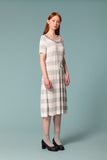 Stripy Viscose Dress