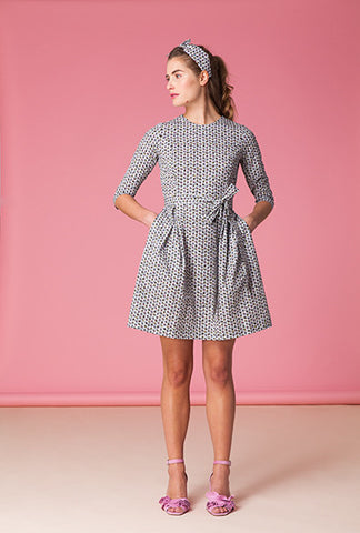 Summer Meadow Tie Dress