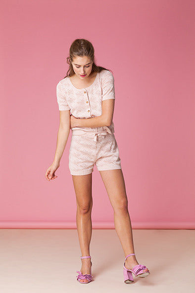 Bee Pointelle Shorts