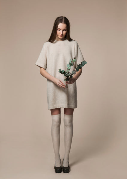 Powder Room Wool Dress
