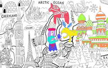 Pirasta Really Big Coloring Poster_ What a Colorful World