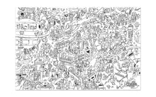 Pirasta Big Coloring Poster_ Spaced Out