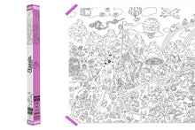 Pirasta_Big Coloring Poster _ Food Fight
