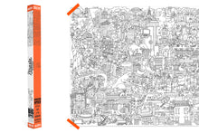 Pirasta Really Big Coloring Poster_Big Apple