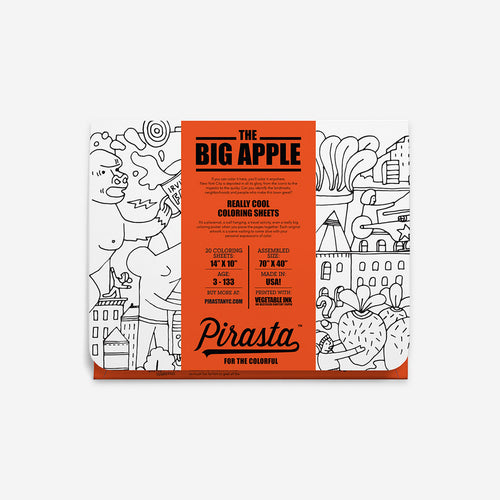 Pirasta Coloring Sheets_ Big Apple