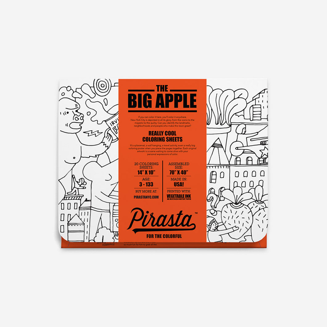the big apple coloring sheets pirasta nyc