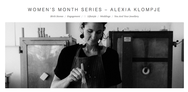 Alexia of Klomp Ceramics
