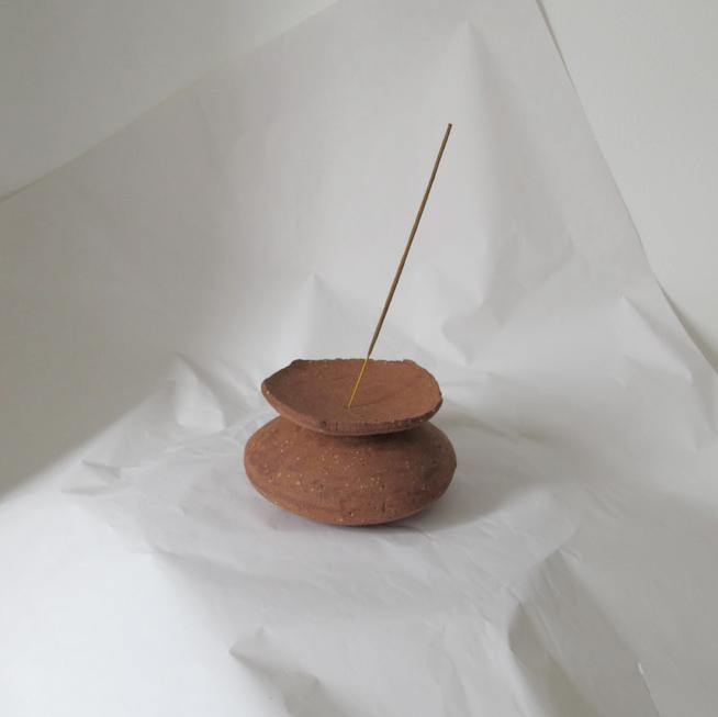 Incense Totem X - Klomp Ceramics