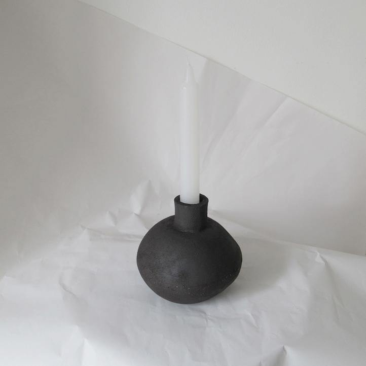 Candle Totem III - Klomp Ceramics