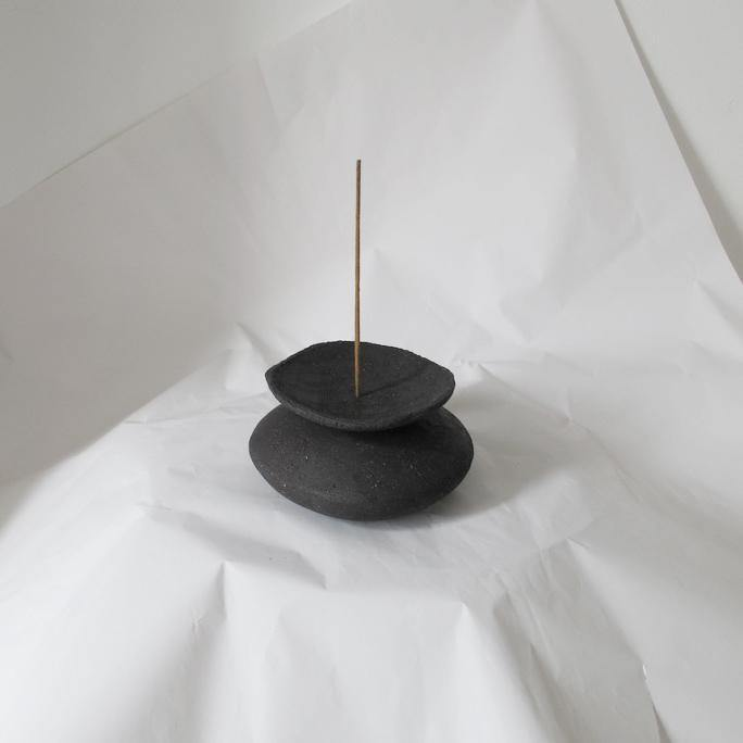 Incense Totem III - Klomp Ceramics