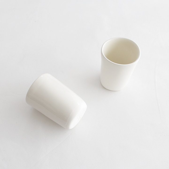 White Clay Cups