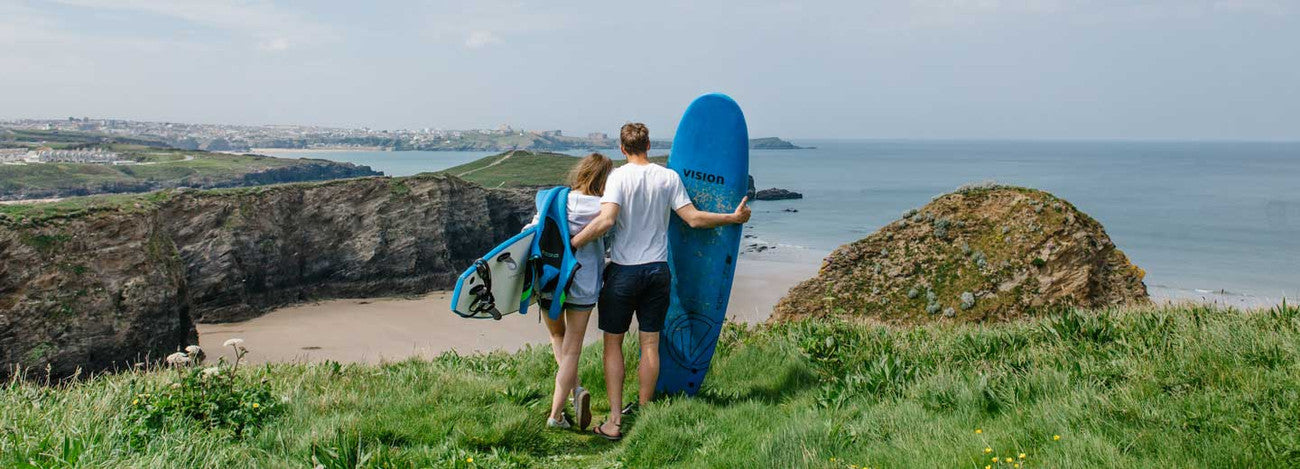 COUPLES SURF LESSON WATERGATE BAY