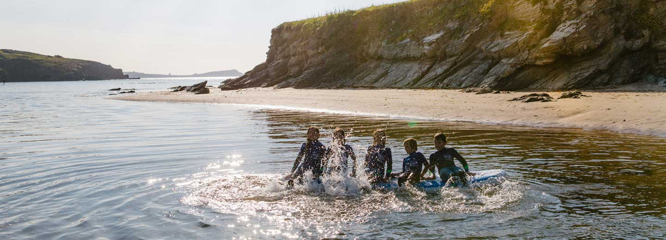 OUR SURF SCHOOL IS NOW BASED AT AT WATERGATE BAY JUST 100m FROM THE BEACH