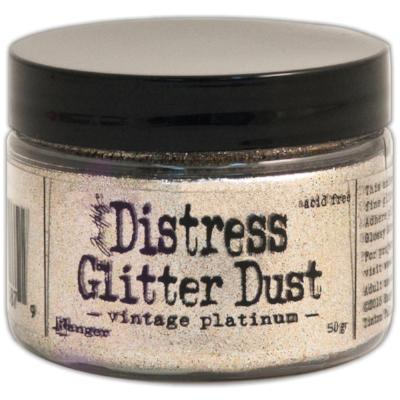 Vintage Platinum Distress Glitter Dust