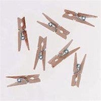 1 in. Wood Spring Clothespins