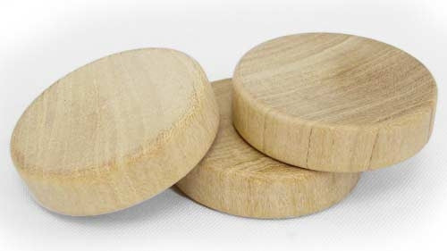 1-1/4 in. Wood Discs / Checkers