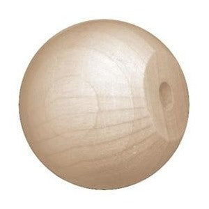 2-1/2 in. Wood Ball Knobs
