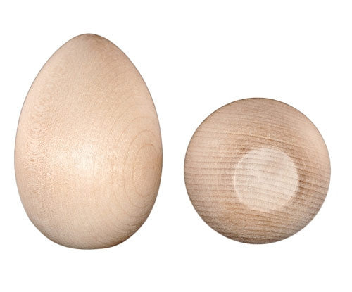 2-1/2 in. Wood Hen Eggs