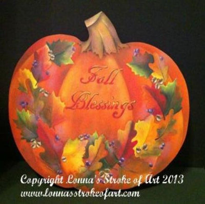 Fall Blessings E-Pattern