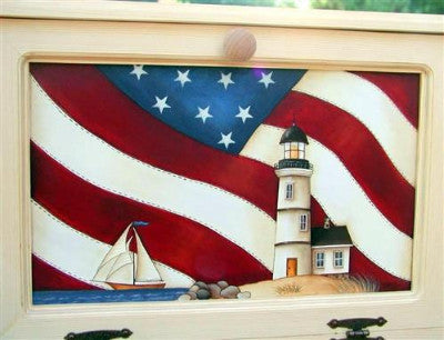 Americana Lighthouse E-Pattern