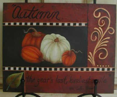 Autumn Anywhere Tray Insert E-Pattern