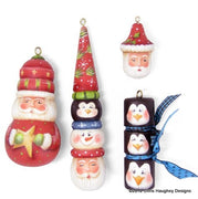 Santa Stacker Ornaments E-Pattern