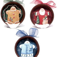 Holiday Lid Ornaments E-Pattern