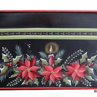 Poinsettia Windowbox E-Pattern