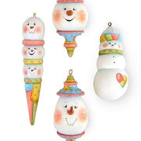 Patchwork Snow Babies Ornaments E-Pattern