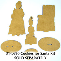 Cookies for Santa Pattern by Chris Haughey